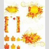 Vintage Autumn Flower Clipart | ClipArtHut - Free Clipart