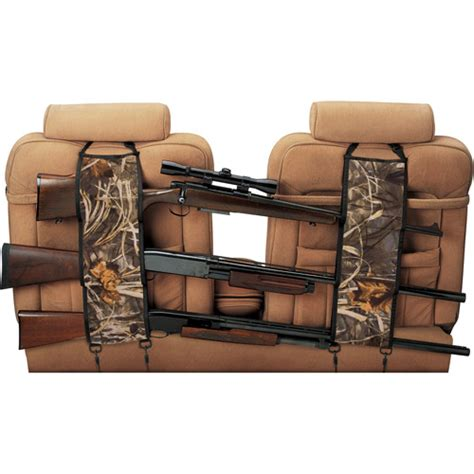 Backseat Gun Rack by Quadgear Seat Back Gun Rack Max4 Walmart