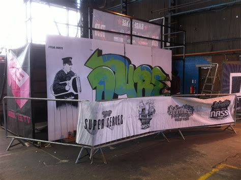 spray painter belfast t13 skatepark belfast visual waste
