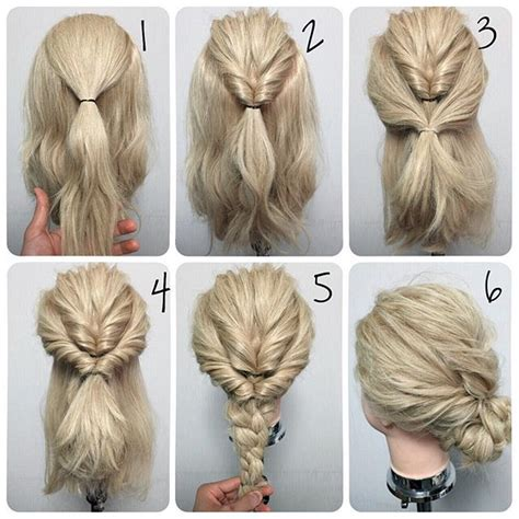 easy diy bridal hairstyles hr 3 pinterest 25 best ideas about thick hair updo on pinterest