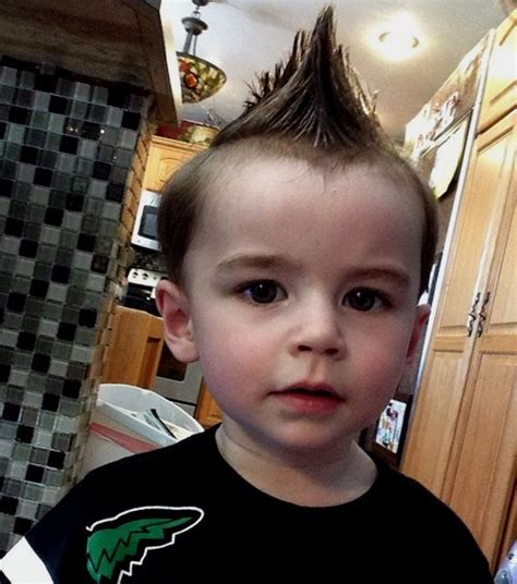 lil boys edgy haircuts 20 awesome and edgy mohawks for kids