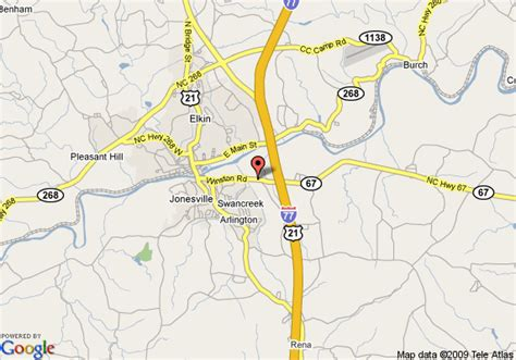Comfort Inn Elkin Nc by Map Of Comfort Inn Jonesville Jonesville