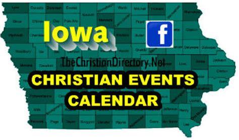 iowa ia christian event listings advertise christian