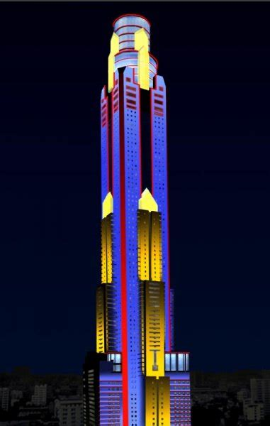 baiyoke sky tower brilliant lighting design