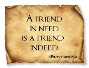 A Friend In Need Is A Friend Indeed Sle Essay by A Friend In Need Is A Friend Indeed By Proverbs Like Success