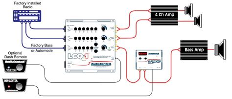 crossover wiring diagram car audio 3 way crossover wiring