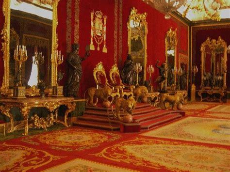 Castle Throne Room by Royal Throne Room At Palacio Real De Madrid Spain 0x