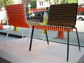Furniture Made Out Of Recycled Materials Creative Chairs From Odd Materials