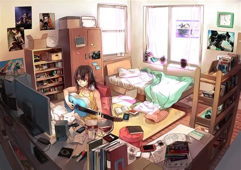 the bedroom game anime background room buscar con google ppxx