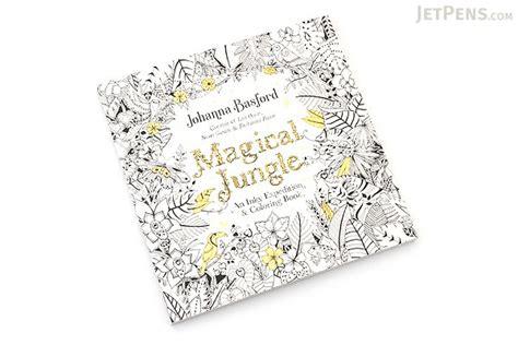 magical jungle an inky 0753557169 magical jungle an inky expedition coloring book basford jetpens com