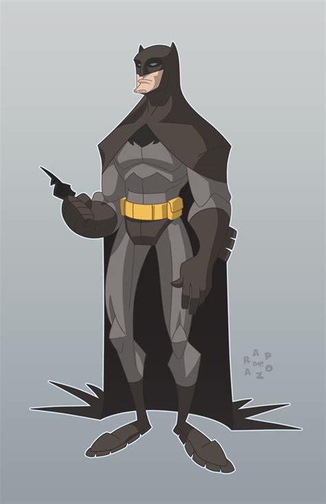 Batman Spandex homage batman wears spandex by frankrapoza on deviantart