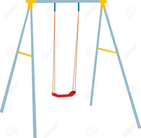art swing playground swings clipart 42