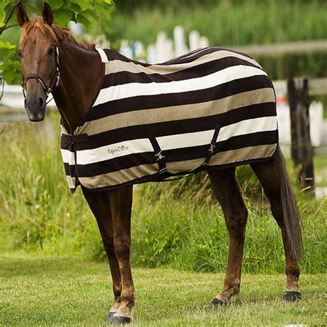 show rugs for ponies equi theme stripe fleece rug cob pony show winter travel sheet cooler ebay