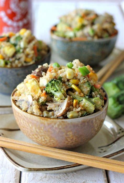 cuisine sans gluten sans lait food inspiration recette quinoa cuisin 233 fa 231 on riz frit