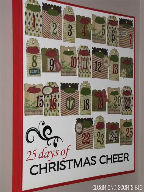 advent calendar activities clean and scentsible
