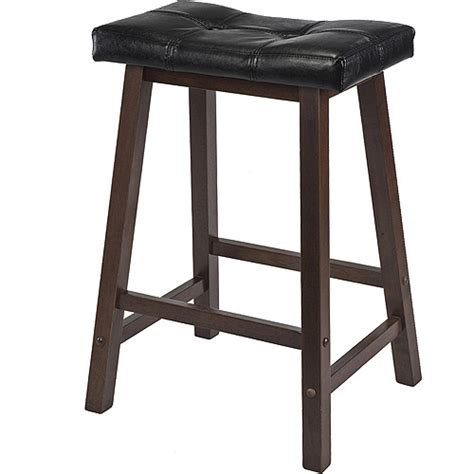 mona 24 quot saddle stool walmart