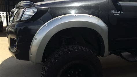 All New Fortuner Fender Activo Aksesoris Toyota Fortuner fender flares wheel arch with nuts fit toyota hilux 2011 14 set of4 ebay