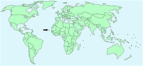 cape verde on a world map cape verde facts and figures