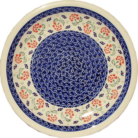 polish pottery dinner plate pattern number 233ar polish pottery dinner plate pattern number 963 country