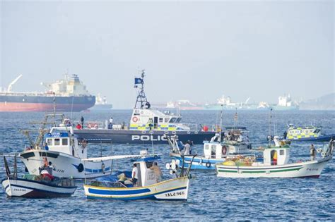 fishing boat is spanish gibraltar 40 spanish fishing boats in stand off with