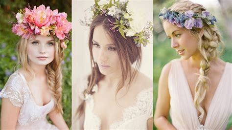 Wedding Hairstyles With Flowers by Wedding Hairstyles With Flowers Images Photos Pictures