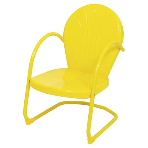 yellow patio chairs tulip outdoor arm chair in yellow chair