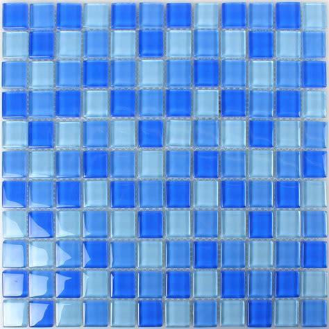 fliesen blau glasmosaik fliesen blau mix tm33280m