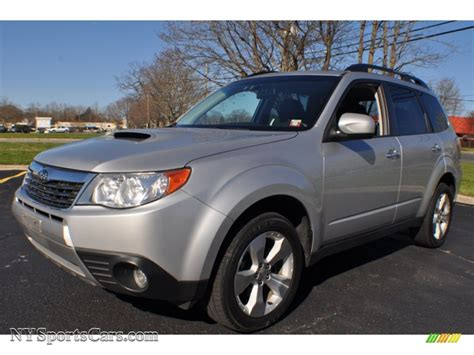 subaru forester silver 2010 subaru forester 2 5 xt limited in spark silver