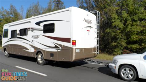 how to tow a car rv towing tips 3 ways to tow a car your motorhome