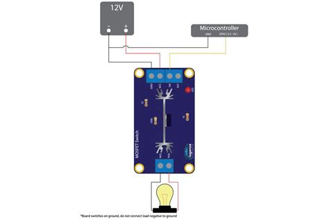 transistor fet switch mosfet switch from visgence on tindie