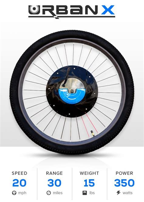 E Bike Reifen Für Normales Fahrrad by Urbanx Macht Aus Jedem Fahrrad Ein E Bike Was Is Hier