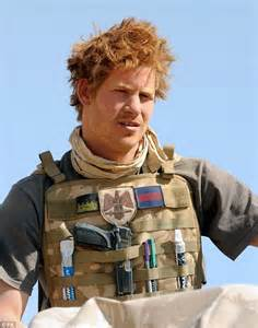 Prince harry pictured while serving in the army knows his way around