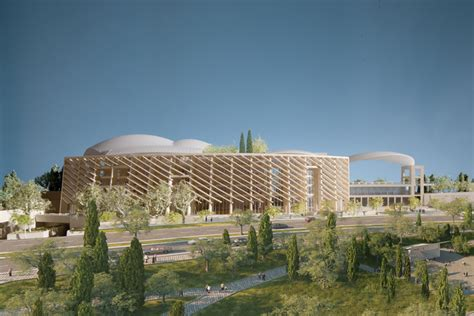 designboom israel proposal for national library of israel by safdie architects