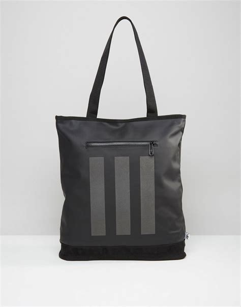 Tote Adidas Tote Bag lyst adidas originals tote bag in black ay8662 black