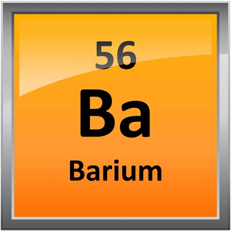 Periodic Table Ba by 056 Barium Science Notes And Projects