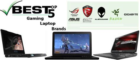 best notebook brand best laptop brands for pc gaming