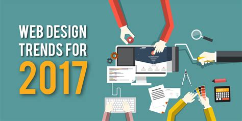 2017 web design trends web design trends for 2017 the room