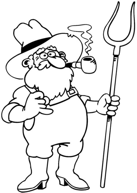 coloring book pitchfork pitchfork coloring pages sketch coloring page