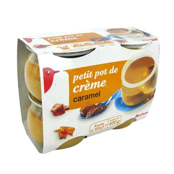 Maison Du Monde Bebe 3951 by Creme Caramel Auchan 4x100g Drive Auchan Villefranche