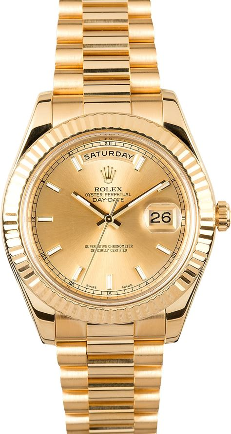 date on day rolex day date president 218238