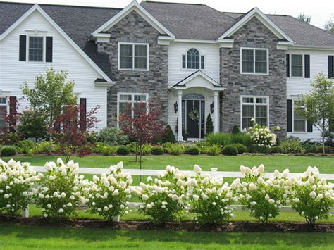front yard landscaping with hydrangeas interior design ideas home bunch