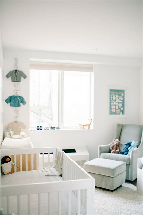 A Modern Brooklyn Nursery And Newborn Shoot Family Simple Nursery Decorating Ideas