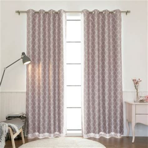 Lavender Blackout Curtains Buy Lavender Curtains From Bed Bath Beyond