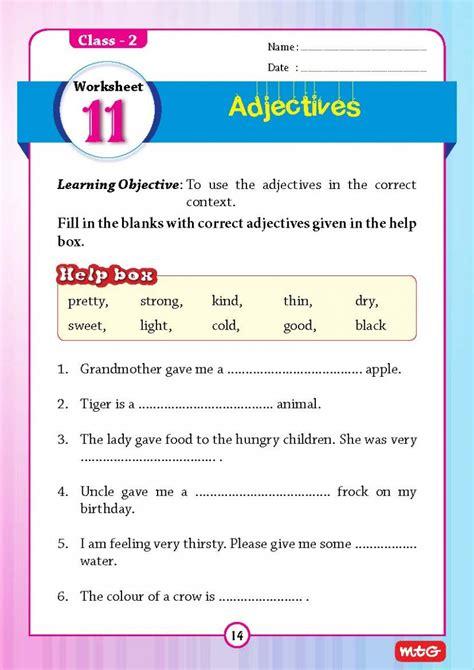 worksheet for grade 2 grammar breadandhearth