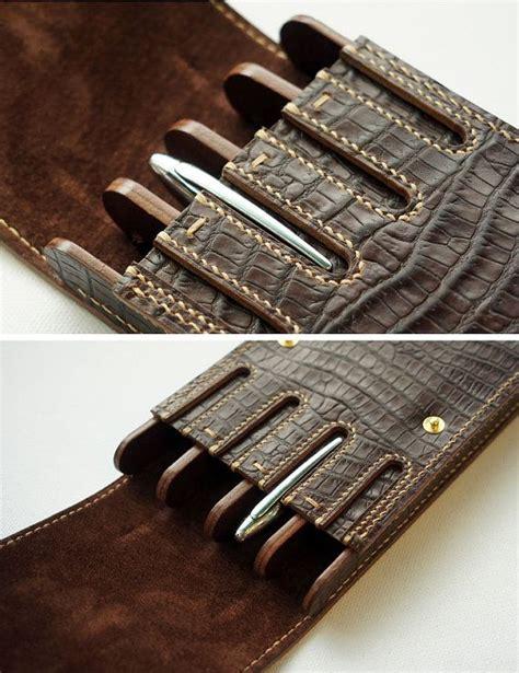 Handmade Leather Pen - handmade leather pen pen waterman