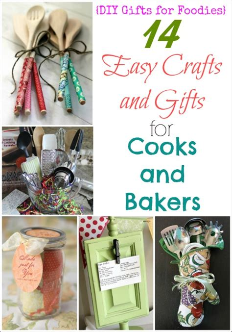 and crafts gifts 14 easy crafts and gifts for cooks and bakers diy gifts