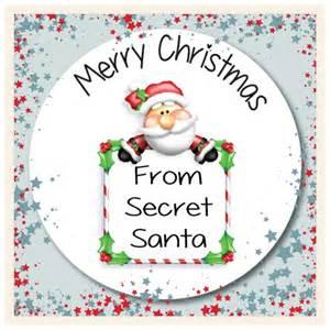 15 secret santa christmas gift labels