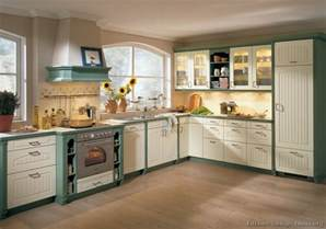 Green Kitchens With White Cabinets Pictures Of Kitchens Traditional Green Kitchen Cabinets