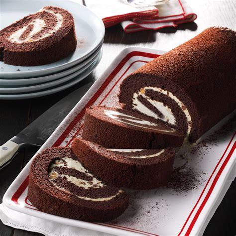 peanut butter chocolate cake rolls recipe taste of home