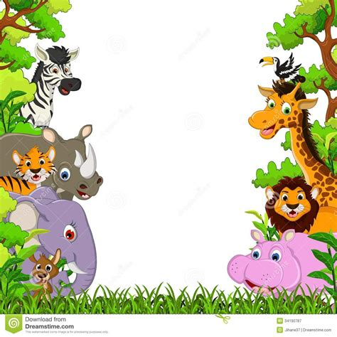 safari clipart ground clipart animal backgrounds pencil and in color